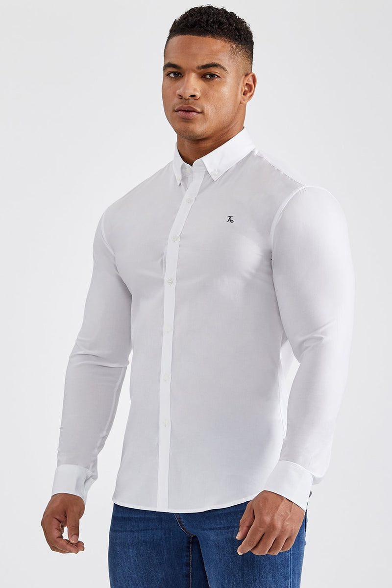 Essential Signature Shirt in White