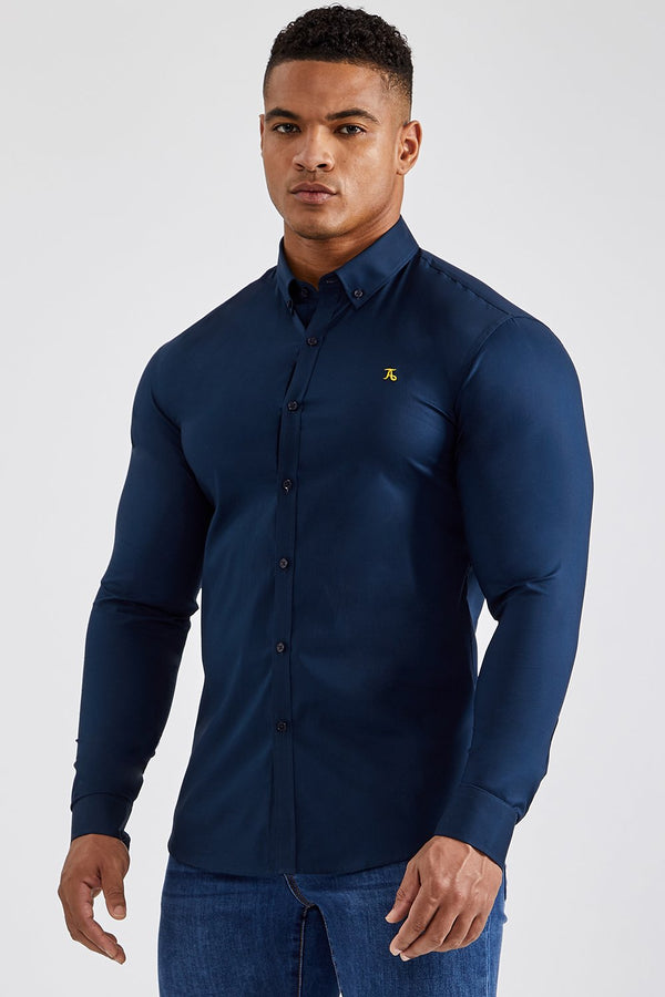 Essential Signature Shirt in Navy