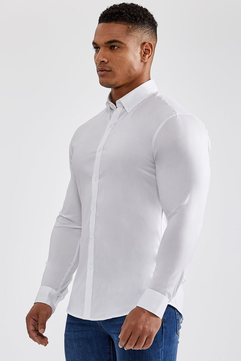 Premium Oxford Shirt in White