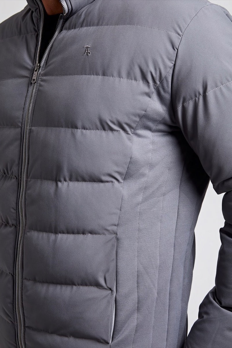 Padded Jacket in Grey