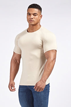Stretch T-Shirt (SS19) in Sand