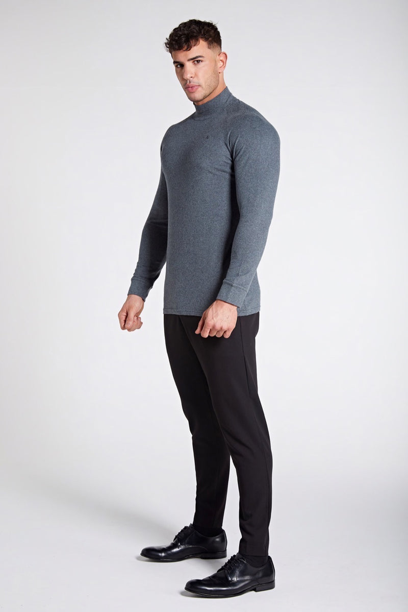 Turtle Neck in Dark Grey