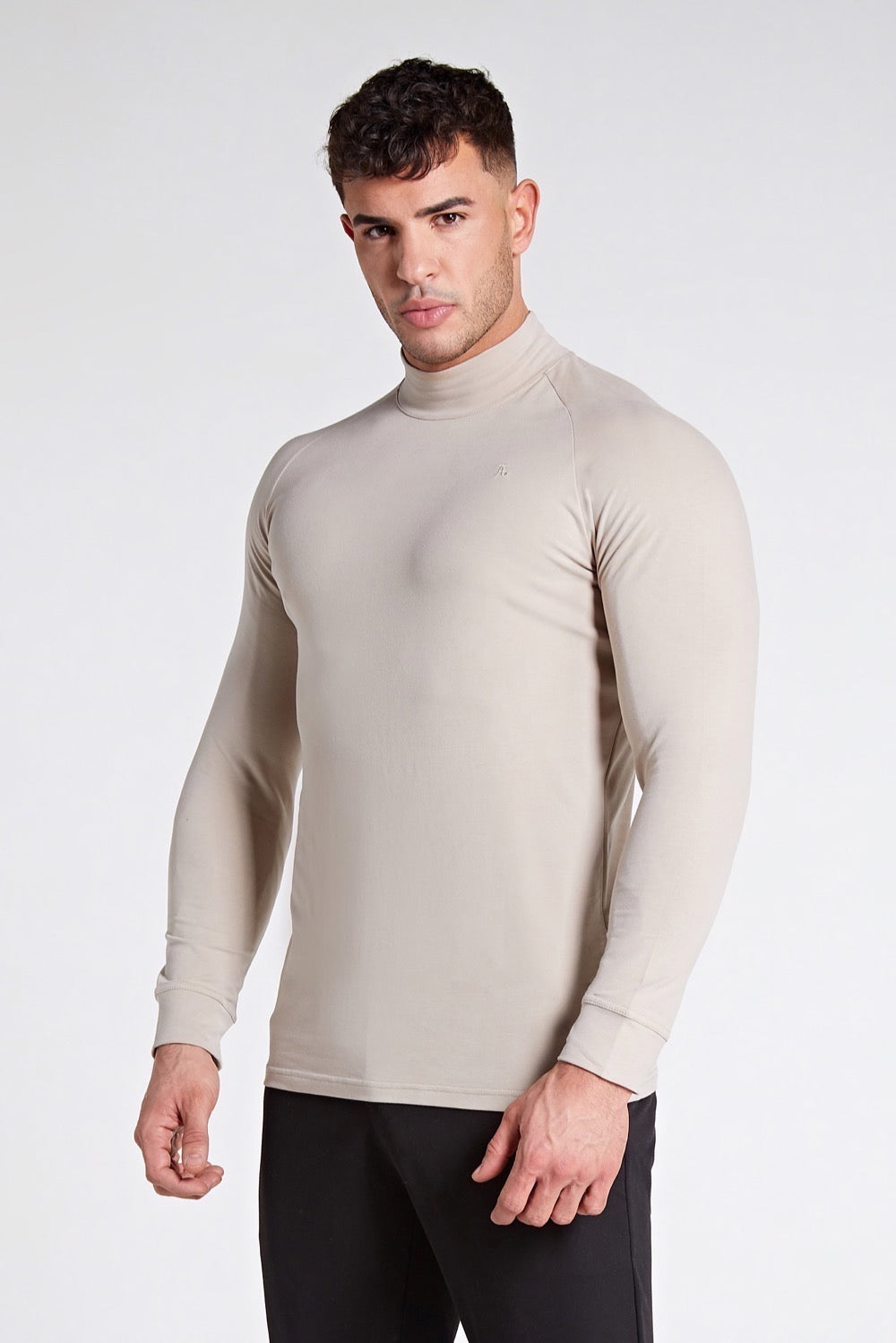 Turtle Neck in Stone