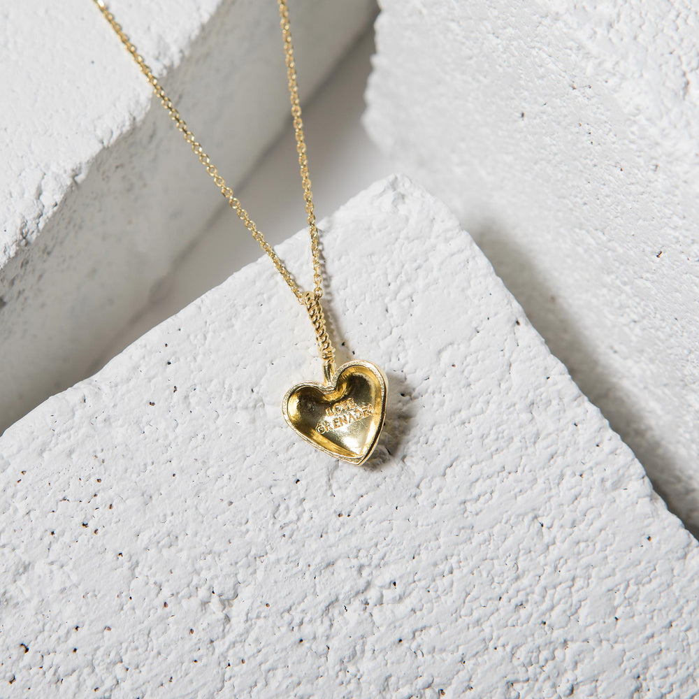 Heart Cherry Bomb Necklace