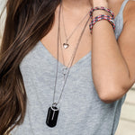 Love Grenade Pin Necklace - Small