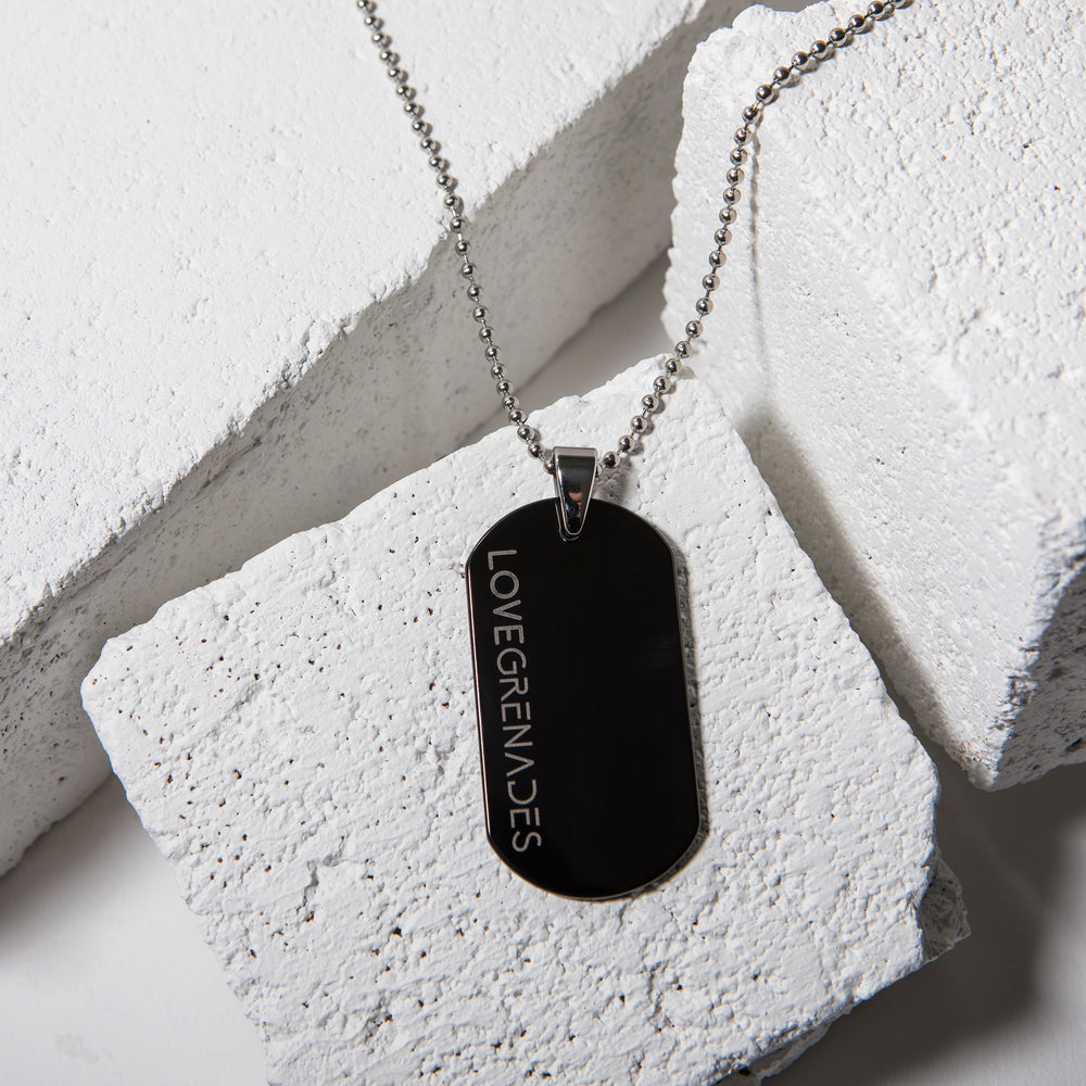Tungsten Dog Tag