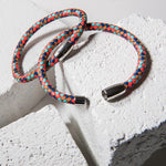 Multi-Colored Braided Leather Bracelet