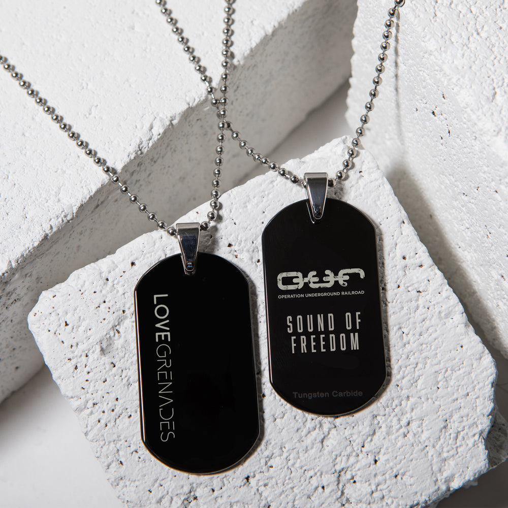 O.U.R. Sound Of Freedom Dog Tag