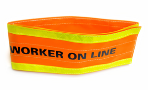 "Pole Wrap ""Worker On Line"", Velcro"