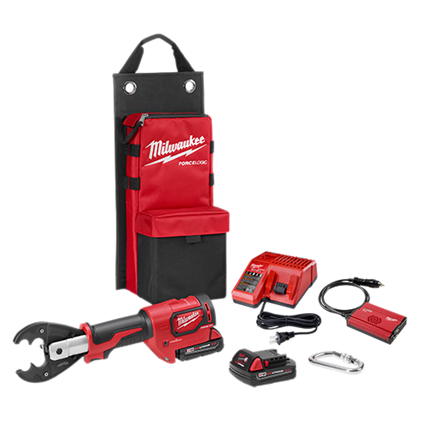 Milwaukee 6-ton battery crimper