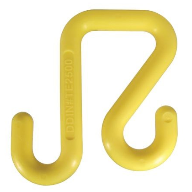 Yellow Polymer Bucket Hook