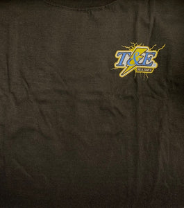 T&E Lineman Storm T-Shirt, Black, 3X-Large