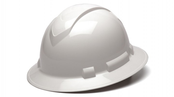 Full Brim White Hard Hat