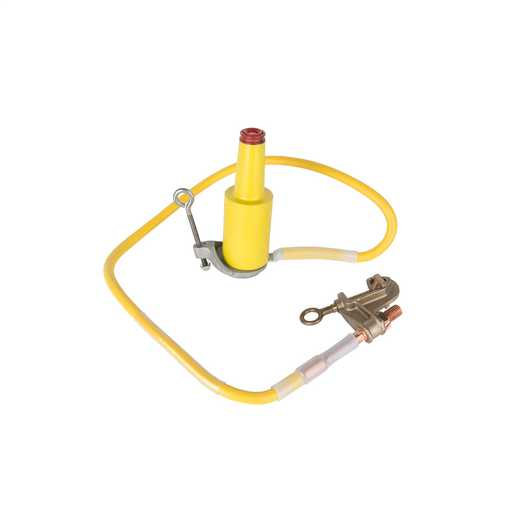 Ground Set URD 1/0 Yellow 4FT 15kVPARK