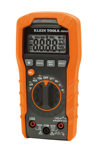 Digital Multimeter Auto-Ranging, 600V