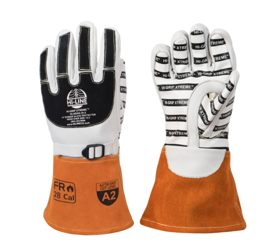 Hi-Grip X-treme High Voltage Glove Protector | Length: 14