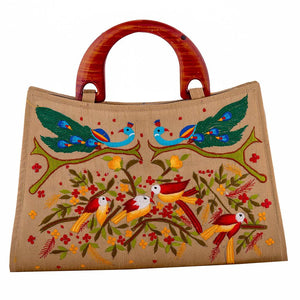 Adorable Embroidery Work Purse