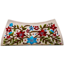 Load image into Gallery viewer, Beige Coloured Multishade Embroidered Purse