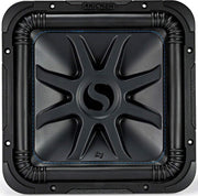 "Kicker Solo-Baric L7S 1500W 12"" 4 Ohm DVC Sealed or Ported Square Subwoofer"
