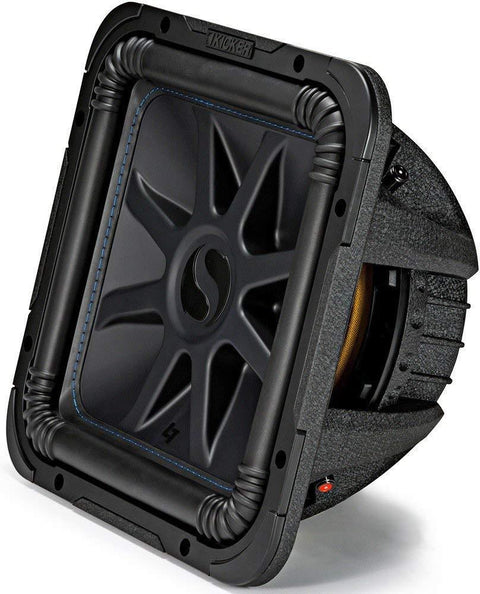 Kicker 44L7S124 Solo-Baric L7S 1500W 12 inch 4 Ohm DVC Sealed or Ported Square Subwoofer