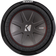 Kicker 43CWR104 CompR 10 inch 4-Ohm Subwoofer