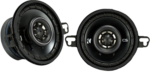 Kicker 43CSC354 CSC35 3.5 inch Coaxial Speakers - 4-Ohm