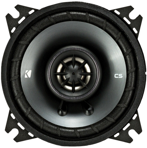 Kicker 43CSC44 CSC4 4 inch Coaxial Speakers - 4-Ohm