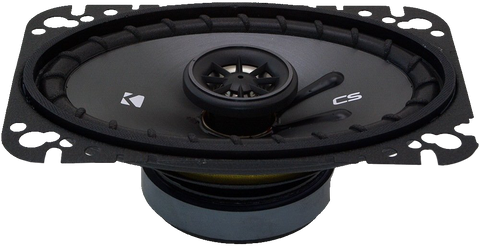 Kicker 43CSC464 CSC46 4x6 inch Coaxial Speakers, 4-Ohm