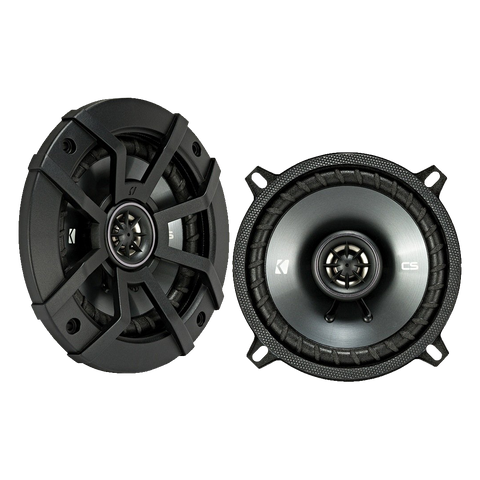 Kicker CSC5 5.25 inch 225W 2 Way 4 Ohm Coaxial Car Audio Speakers, Pair | 43CSC54