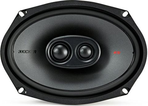 "Kicker KSC69304 KSC6930 6x9 3-Way Speakers with 1"" and .75"" tweeters 4-Ohm"