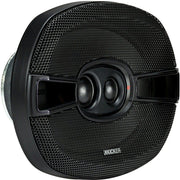 Kicker KSC69304 KSC6930 6x9 inch 3-Way Speakers with 1 inch and .75 inch tweeters 4-Ohm