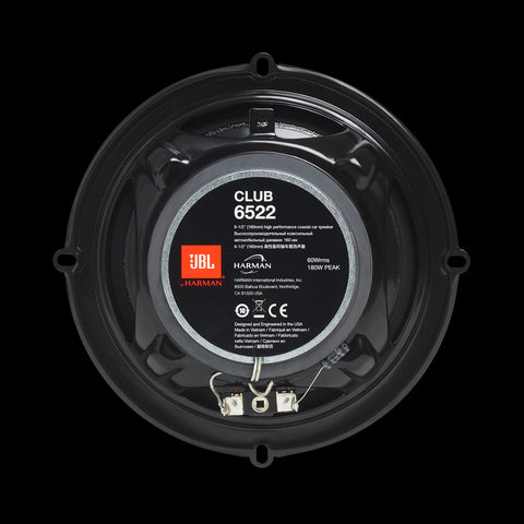 "JBL Club 6522 6-1/2"" 2-way Coaxial Speakers"