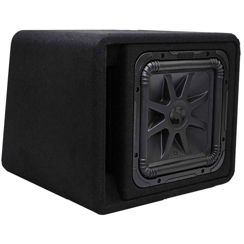Kicker Single 12 inch Solo-Baric L7S Enclosure