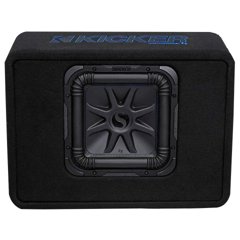 Kicker Single 10 inch Solo-Baric L7S Enclosure