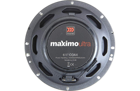 "Morel Maximo Ultra 602 Coax 6.5"" Coaxial Speakers"