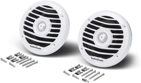 "Rockford Fosgate PM2652X Punch Marine 6.5"" Full Range Speakers - Luxury (Pair)"