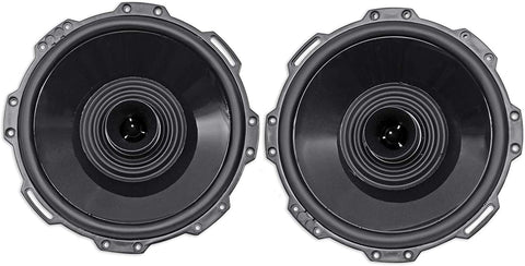 "Rockford Fosgate PM282H-B Punch Marine 8"" Full Range Speaker w/Horn Tweeter - Black (Pair)"