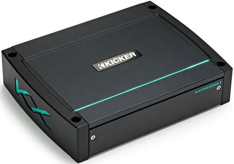 Kicker KXMA1200.1 1200-Watt Mono Class D Subwoofer Amplifier (44KXMA12001)