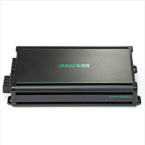 Kicker KMA450.6 6-Channel Weather-Resistant  Full-Range Amplifier (45KMA4506)