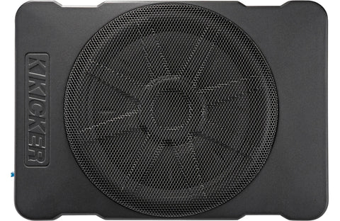 Kicker 46HS10 Compact Powered 10-inch Subwoofer Black