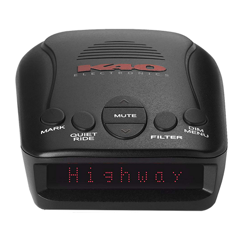 K40 RLS2 Portable Radar/Laser Detector with GPS