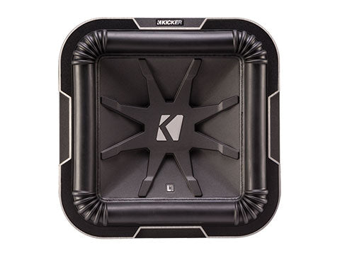 Kicker 41L7104 10in. L78 Square DVC Subwoofer, 4 Ohm