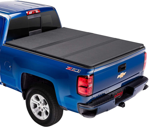 "Extang Solid Fold 2.0 Hard Folding Truck Bed Tonneau Cover | 83645 | Fits 2007-13 Chevy/GMC - Silverado/Sierra 5'8"" Bed"