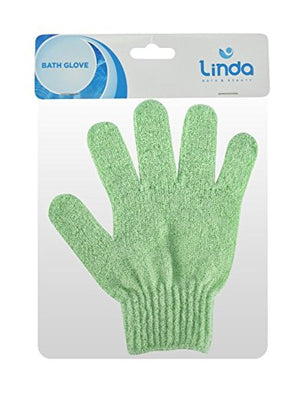 Linda Exfoliating Bath Gloves -4 Pairs (LS)