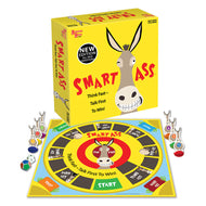 Smart Ass Party Game - Think Fast & Talk First to Win