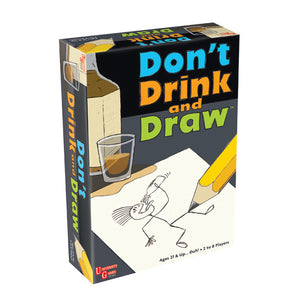 Don't Drink & Draw - Every Player Draws & Guesses on Every Turn