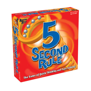 5 Second Rule - The Game of Quick Thinking & Fast Talking
