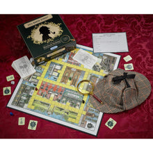 Load image into Gallery viewer, 221B Baker Street Game - Find the Clues, Bluff the others & Solve the Mystery