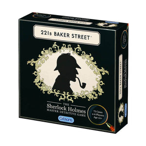 Image of the 221B Baker Street Board Game Box