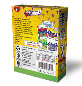 6 Nimmt Card Game (also known as Take Five)